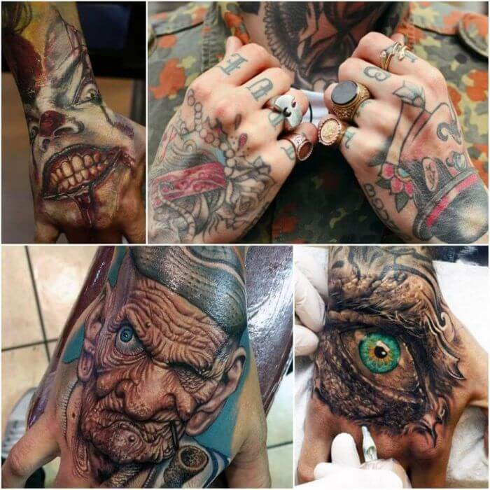 20 Hand Tattoo Ideas With Pictures 22