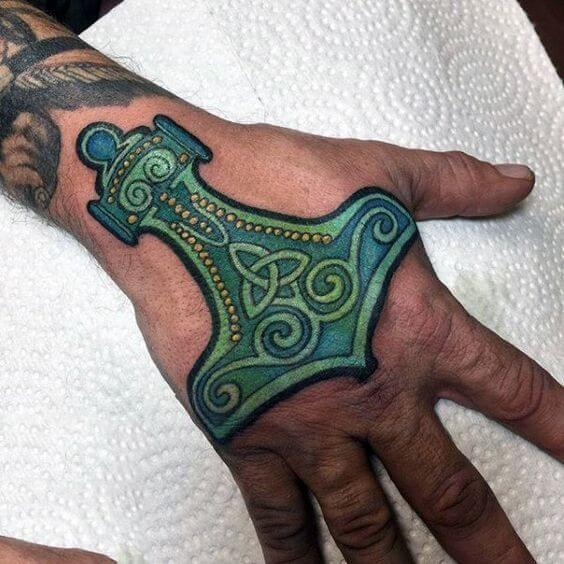 20 Hand Tattoo Ideas With Pictures 24