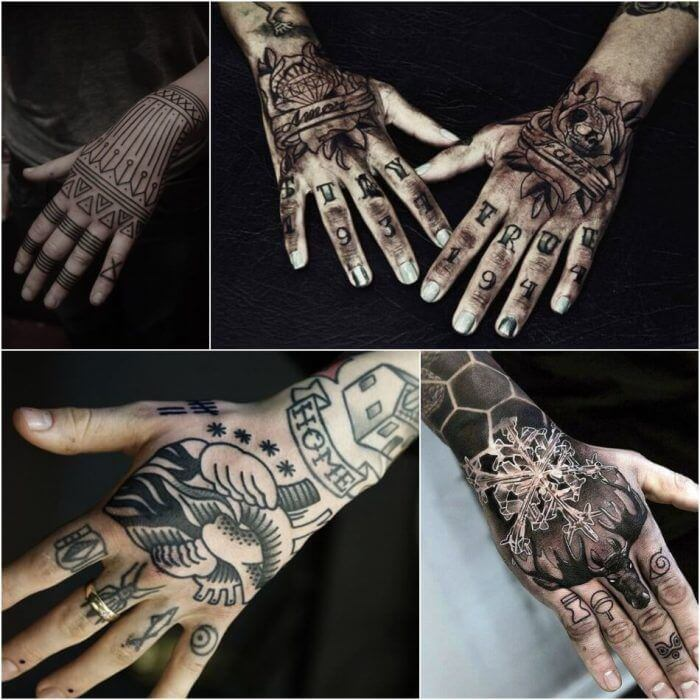 20 Hand Tattoo Ideas With Pictures 25