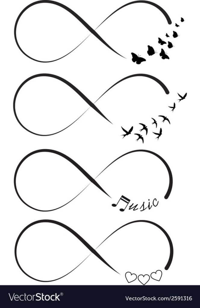 Here are top 10 ideas for embossing an infinity tattoo 32