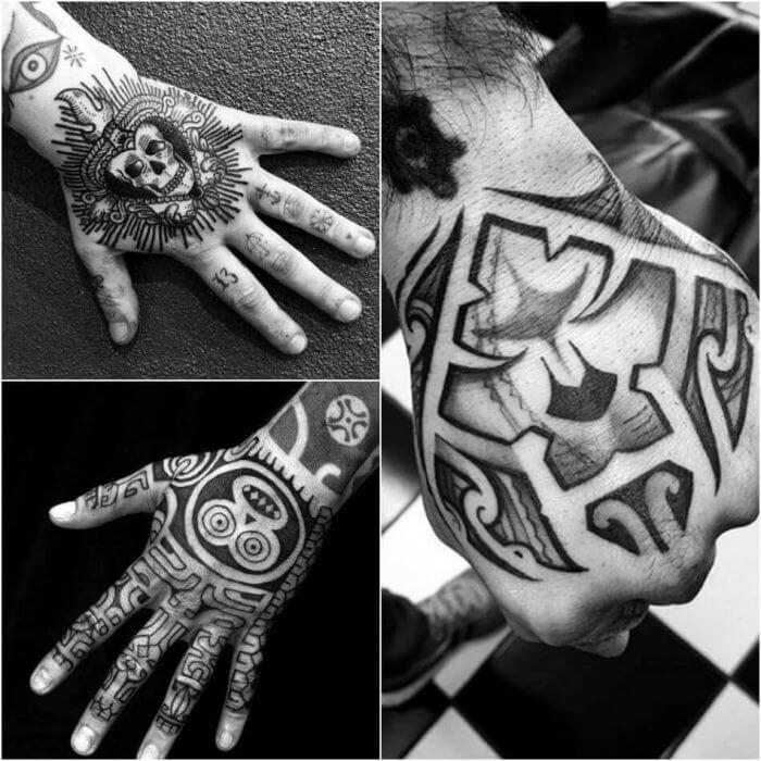 20 Hand Tattoo Ideas With Pictures 26