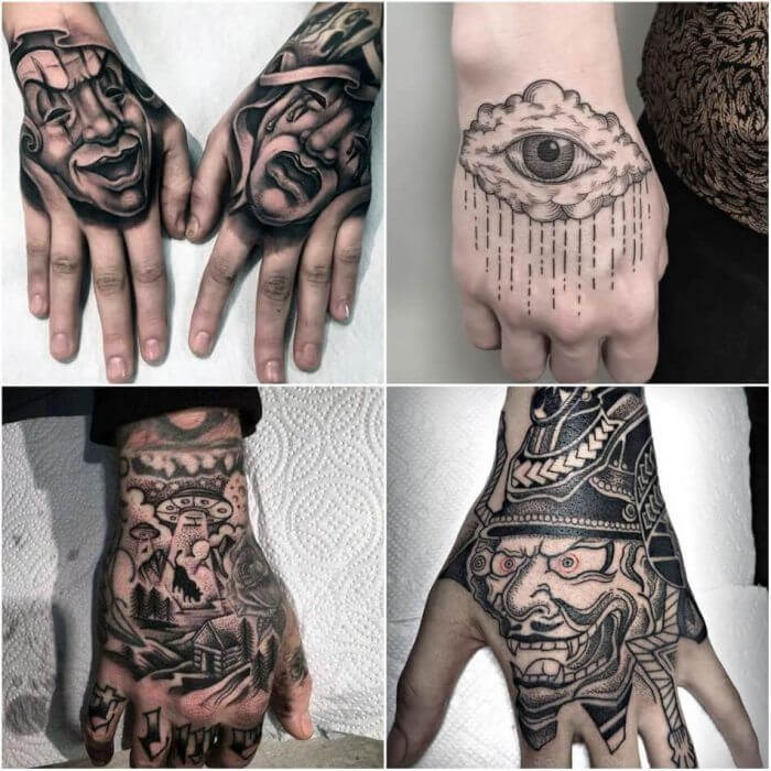 20 Hand Tattoo Ideas With Pictures 28