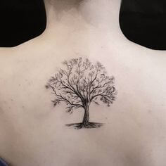 Top 10 And Best ideas for having Oak Tree Designed Tattoos 31