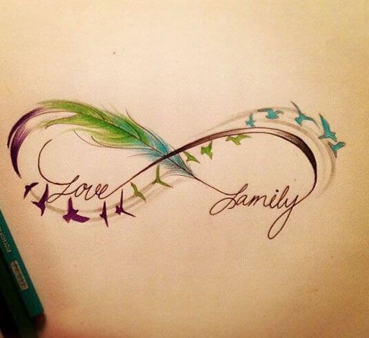 Here Are Top 10 Ideas For Embossing An Infinity Tattoo