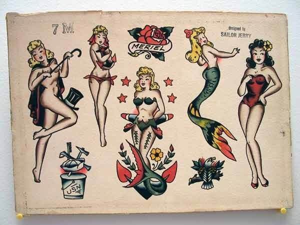 Best 100 Ideas for Pin Up Girl Tattoo 7