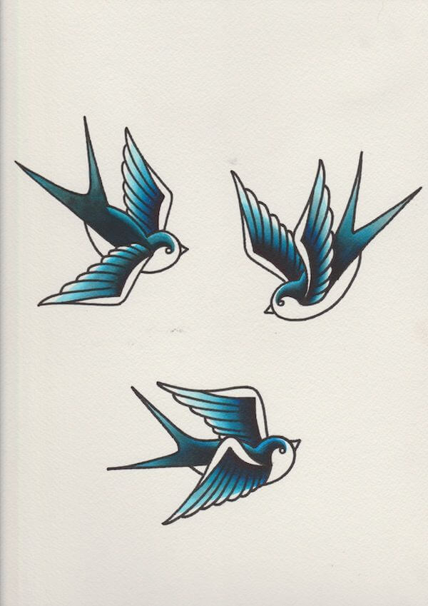 Top sparrow tattoos for a cool and stylish look 17