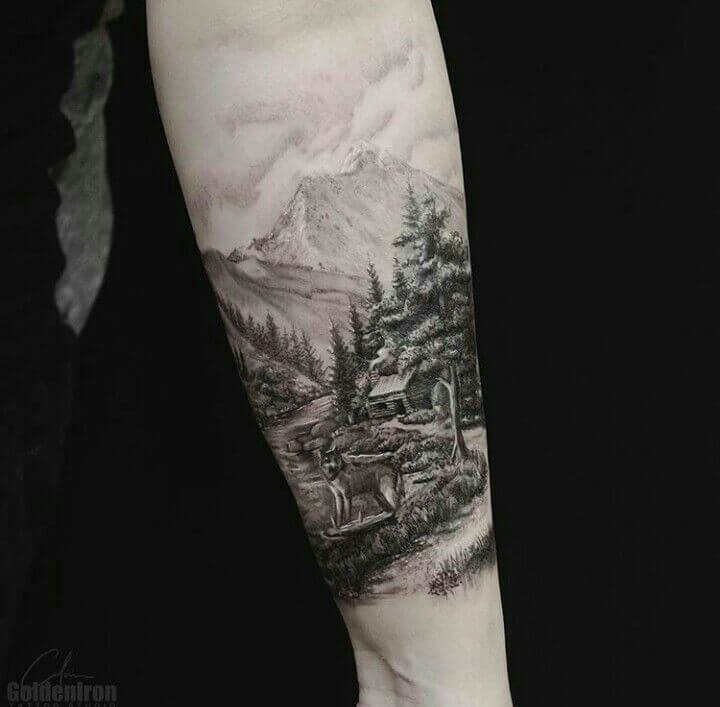 148 Tattoos Ideas for Hunters with their meanings 1