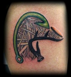 148 Tattoos Ideas for Hunters with their meanings 23