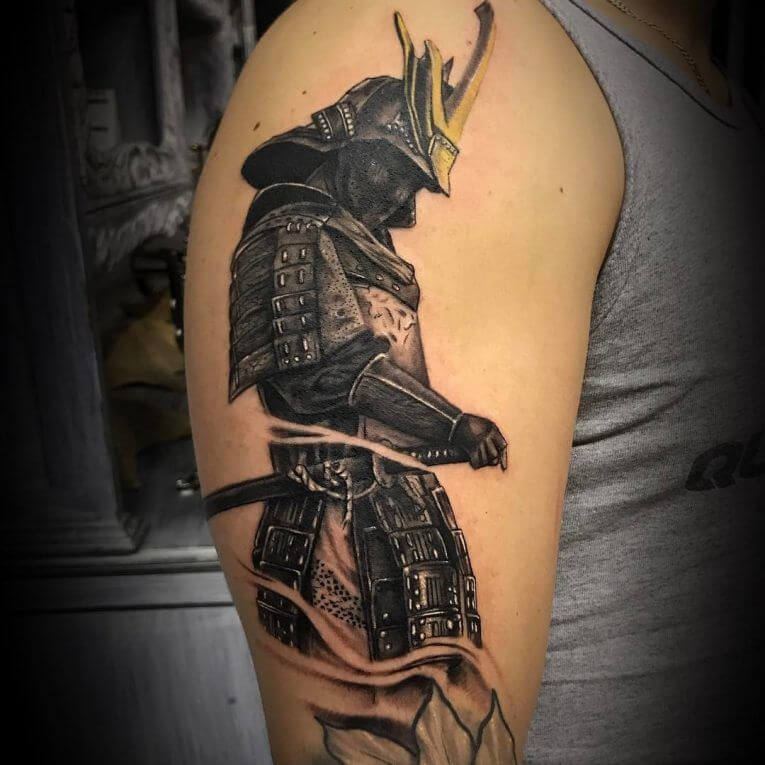 Samurai Tattoo Designs: A History Of War And Honor 11