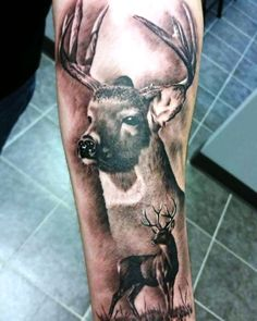 148 Tattoos Ideas for Hunters with their meanings 21