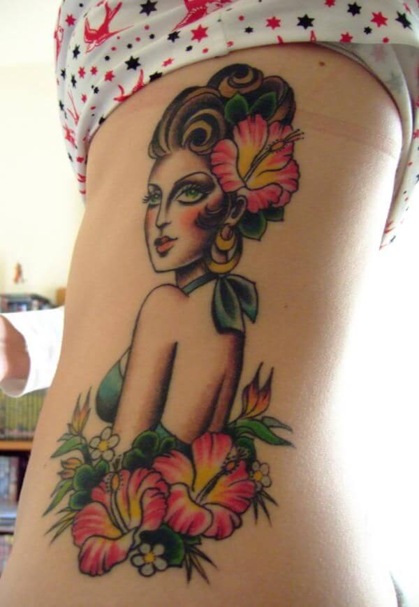 Best 100 Ideas for Pin Up Girl Tattoo 9