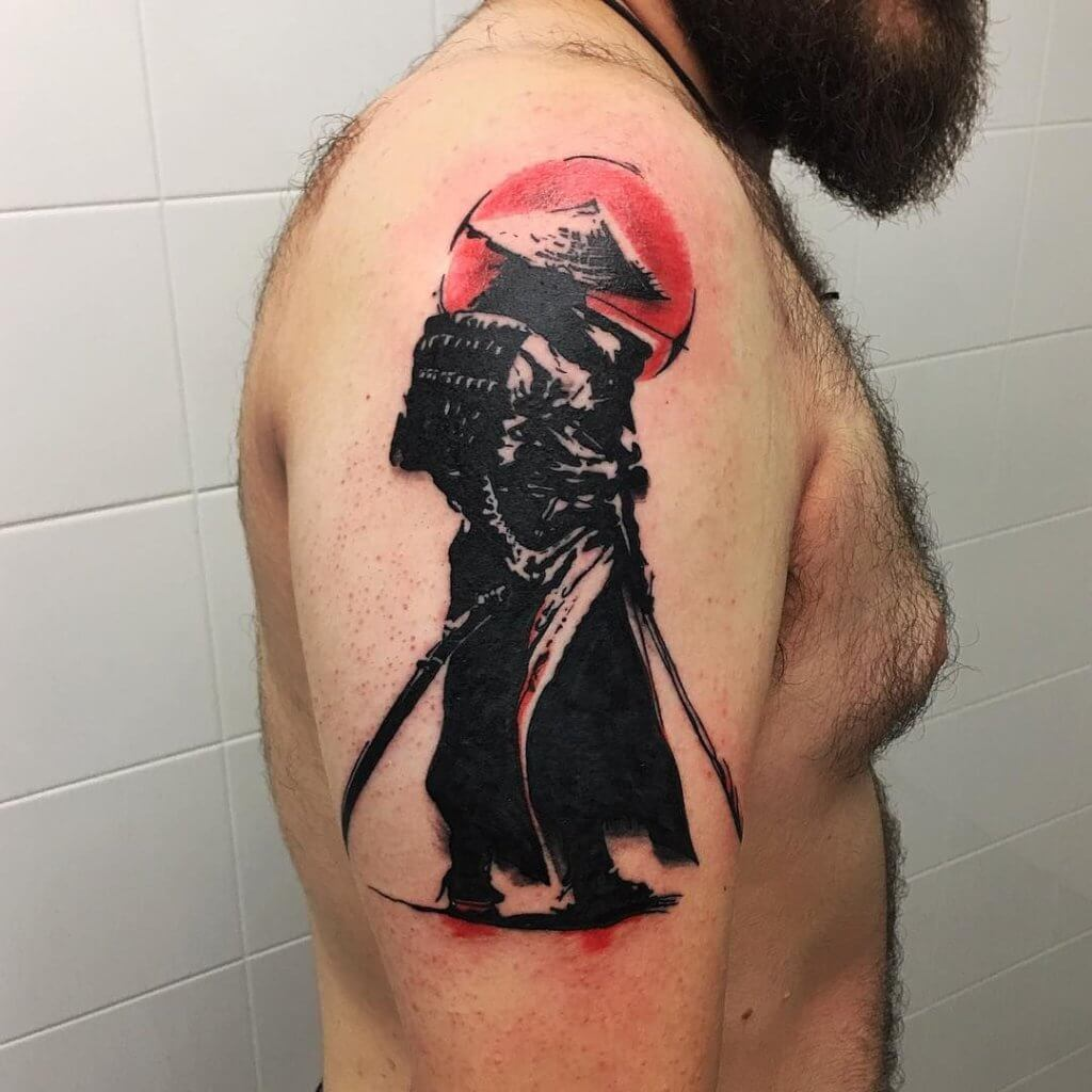 Samurai Tattoo Designs: A History Of War And Honor 14