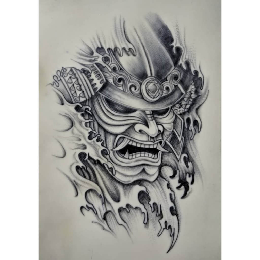 Samurai Tattoo Designs: A History Of War And Honor 8