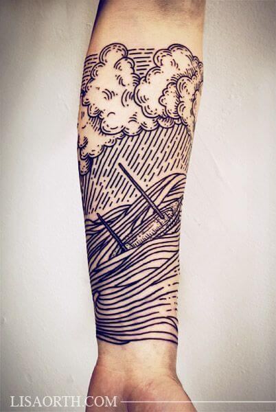 148 - Cloud tattoos and Japanese tattoos designs 50