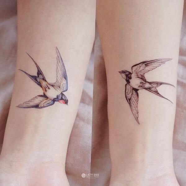 Top sparrow tattoos for a cool and stylish look 12