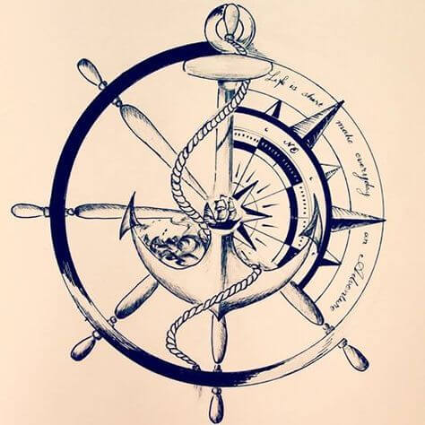 Nautical Tattoo Designs and Their Meanings 26