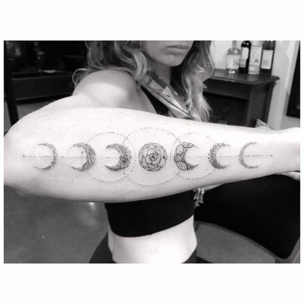Moon Tattoo Designs and Their Vast History 9