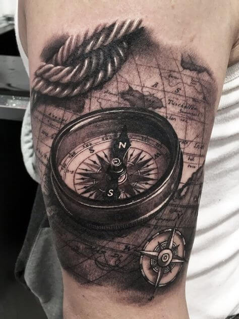 Nautical Tattoo Designs and Their Meanings 20