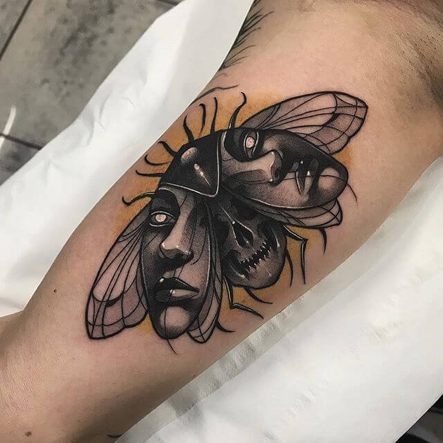 99 - Insect tattoo ideas with meanings out there! 16