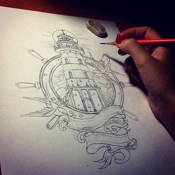 Nautical Tattoo Designs and Their Meanings 8