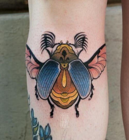 99 - Insect tattoo ideas with meanings out there! 29