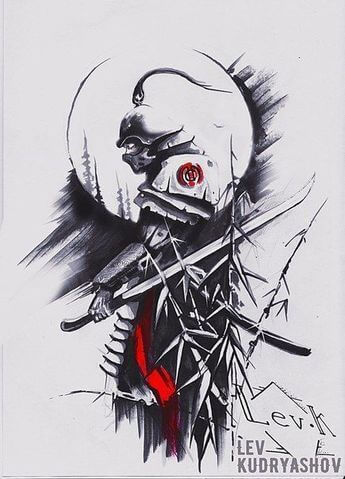 Samurai Tattoo Designs: A History Of War And Honor 4