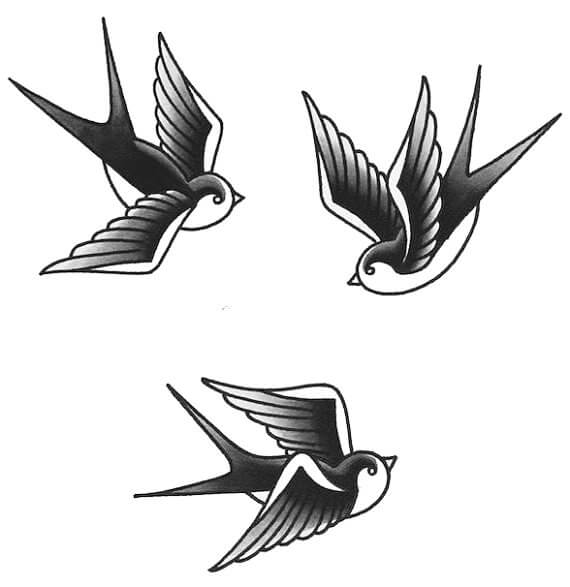 Top sparrow tattoos for a cool and stylish look 5