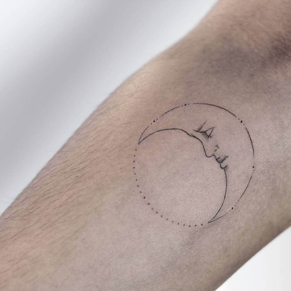 Moon Tattoo Designs and Their Vast History 3