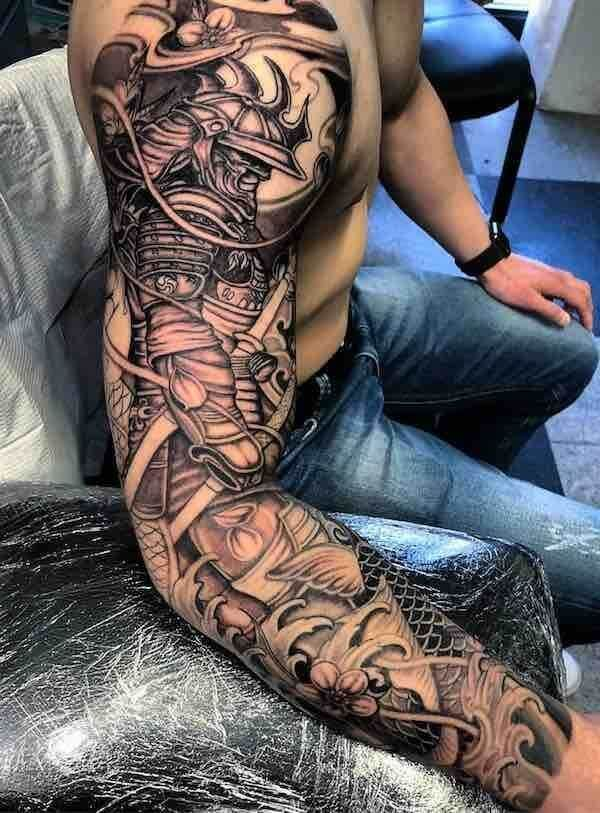 Samurai Tattoo Designs: A History Of War And Honor 12