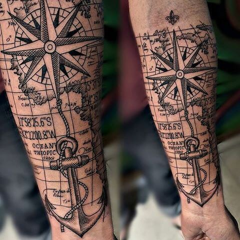 Nautical Tattoo Designs and Their Meanings 25
