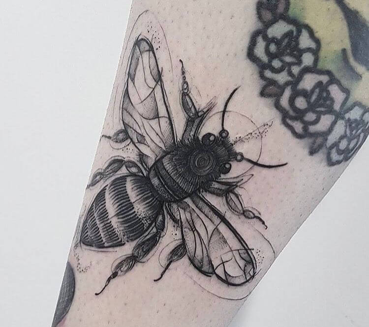99 - Insect tattoo ideas with meanings out there! 31