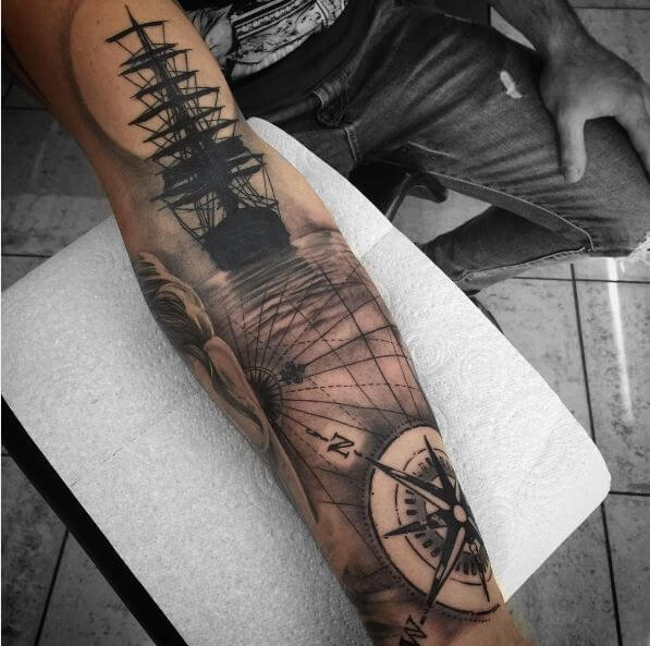 Nautical Tattoo Designs and Their Meanings 10