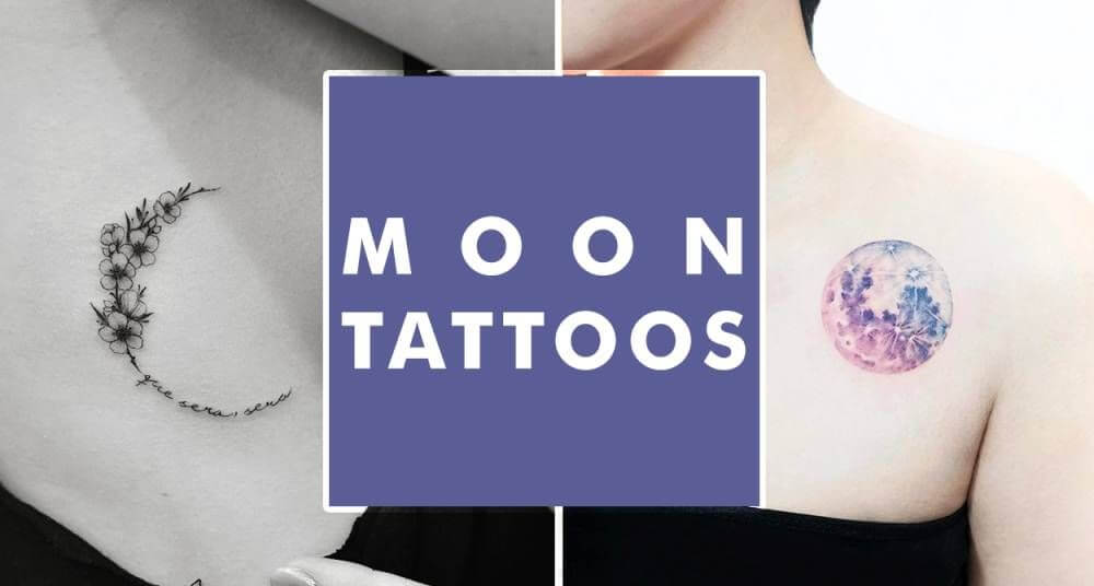 Moon Tattoo Designs and Their Vast History 20