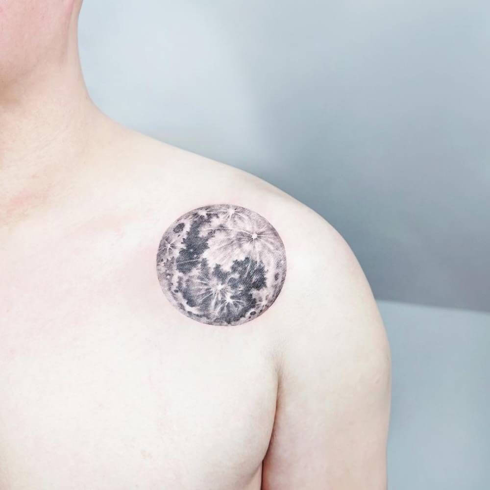 Moon Tattoo Designs and Their Vast History 22