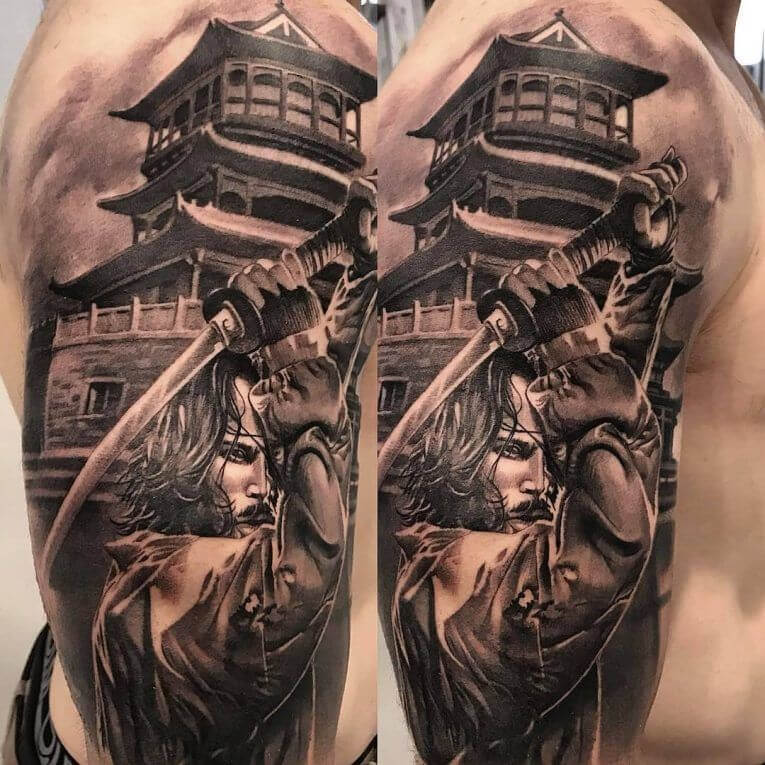 Samurai Tattoo Designs: A History Of War And Honor 10