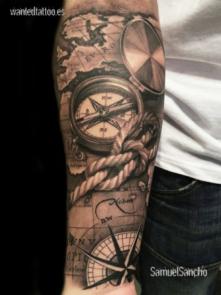 Nautical Tattoo Designs and Their Meanings 13