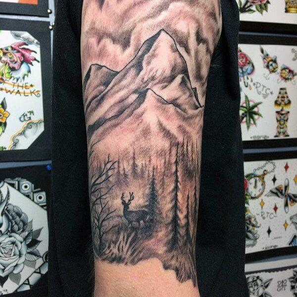 148 Tattoos Ideas for Hunters with their meanings 2