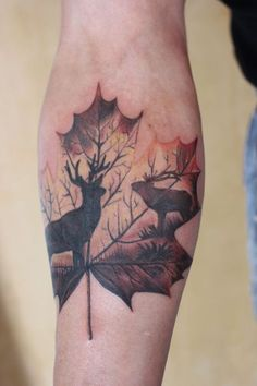 148 Tattoos Ideas for Hunters with their meanings 26