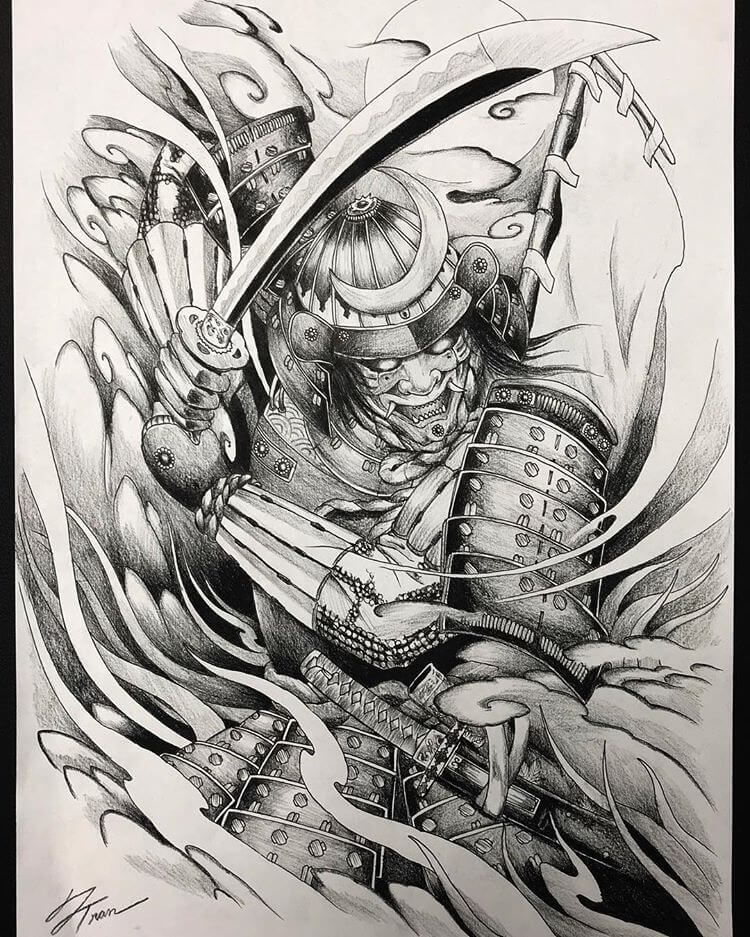 Samurai Tattoo Designs: A History Of War And Honor 7