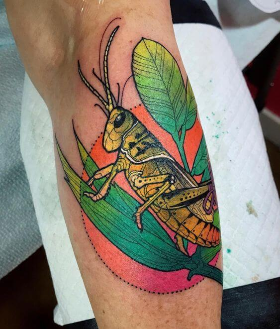 Grasshoppers tattoo