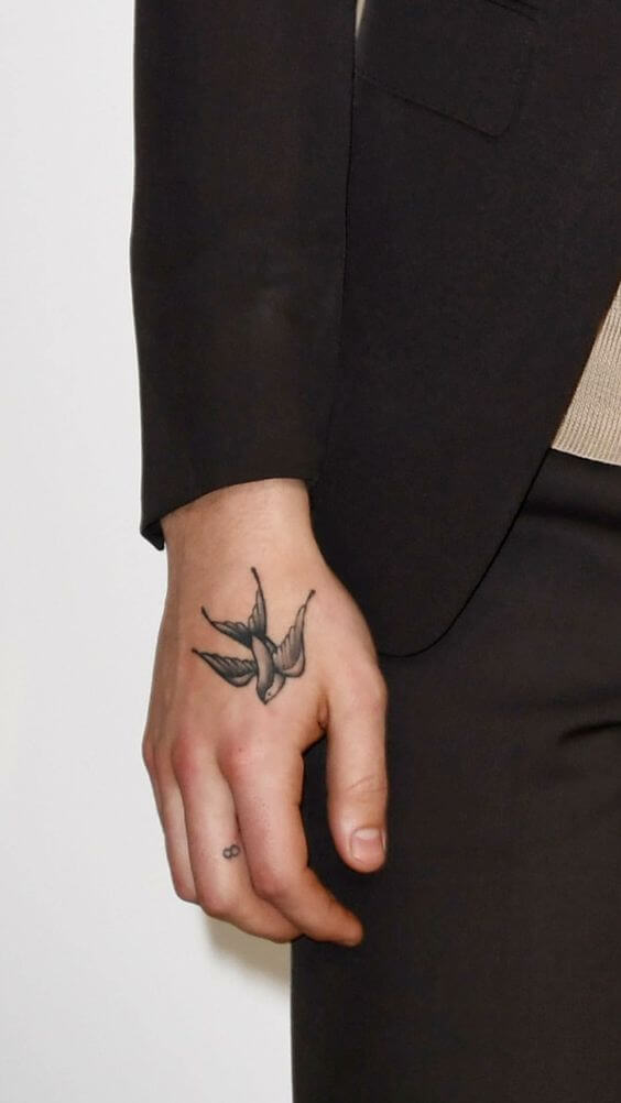 Sparrow tattoo