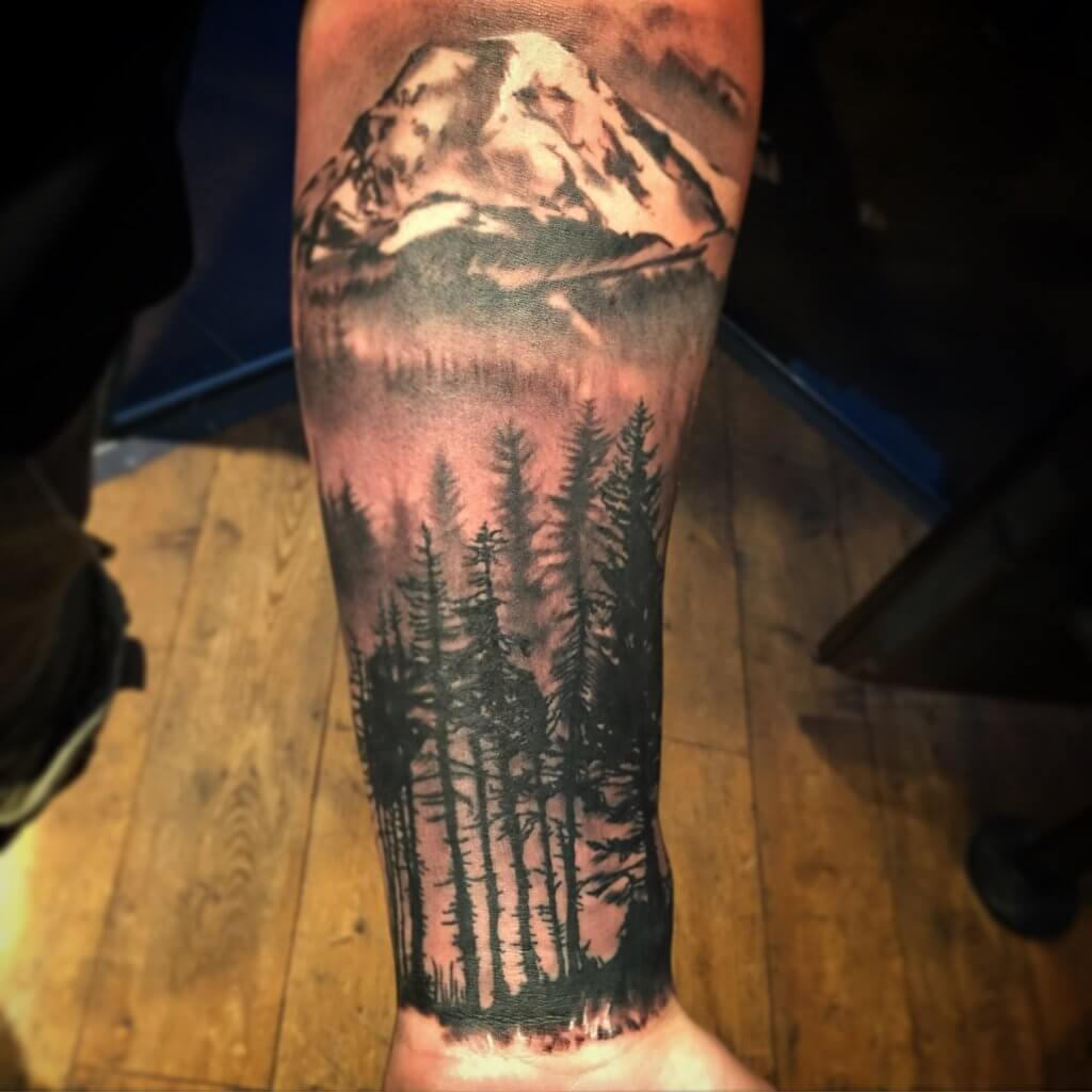 148 Tattoos Ideas for Hunters with their meanings 7