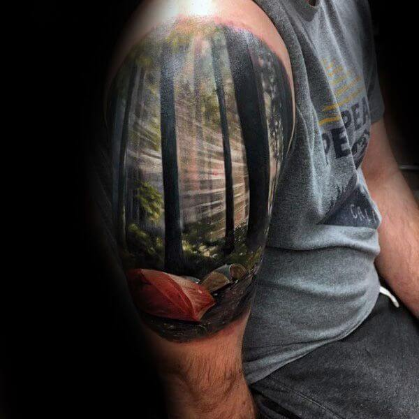 148 Tattoos Ideas for Hunters with their meanings 8