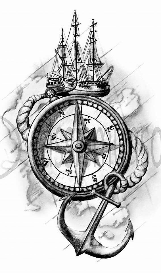 Nautical Tattoo Designs and Their Meanings 28