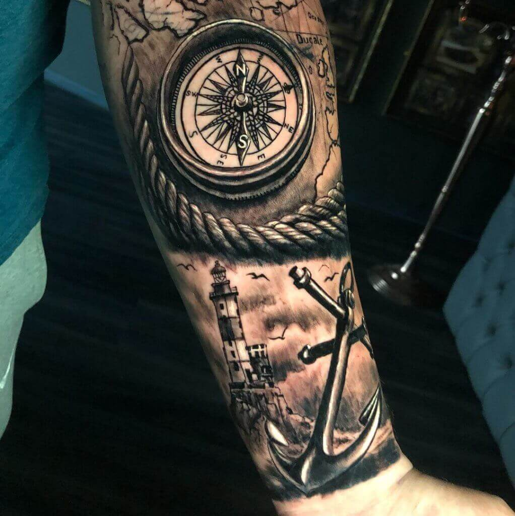 Nautical Tattoo Designs and Their Meanings 29
