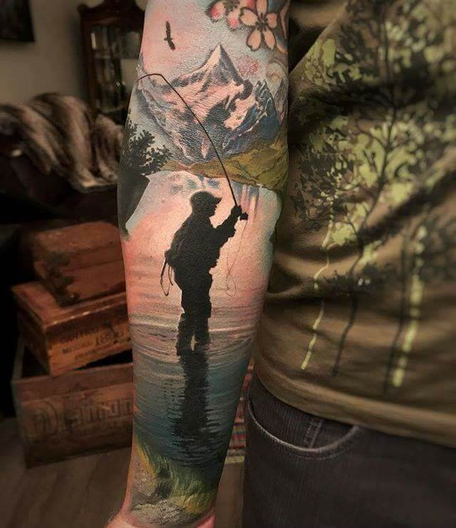 148 Tattoos Ideas for Hunters with their meanings 9
