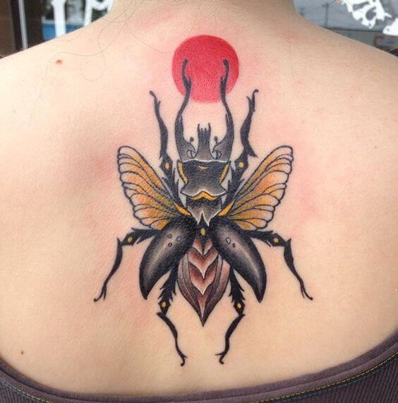 beetle tattoo