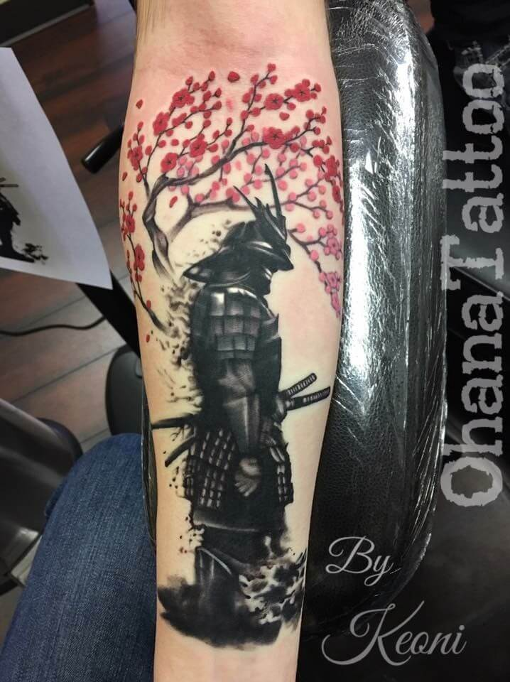 Samurai Tattoo Designs: A History Of War And Honor 20