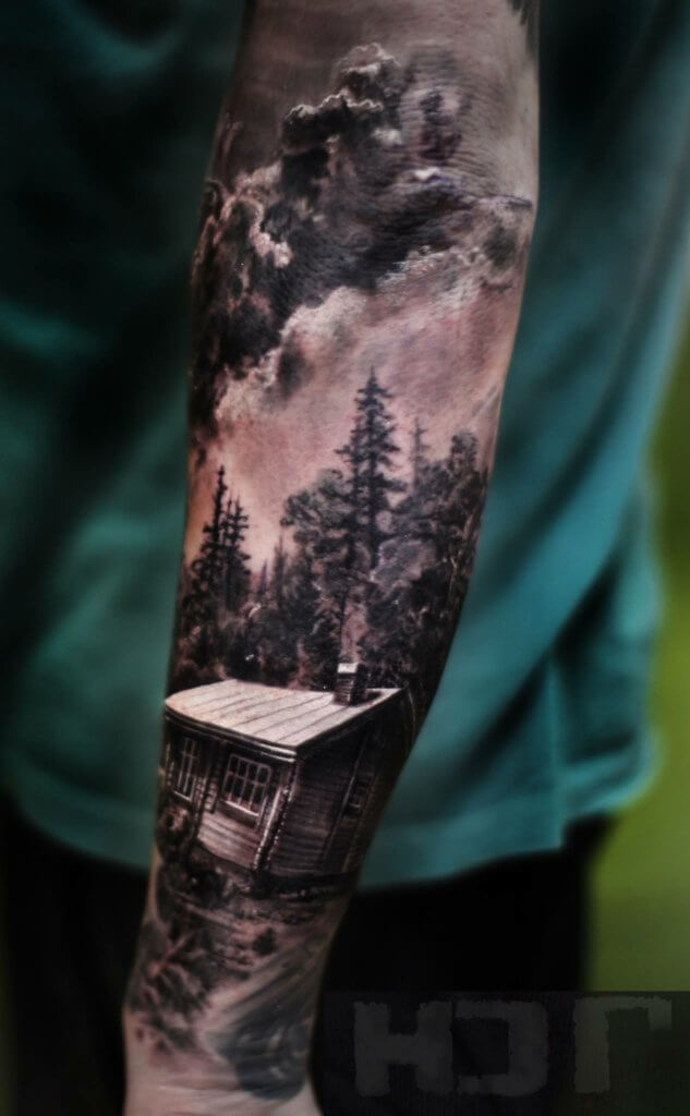 148 Tattoos Ideas for Hunters with their meanings 12