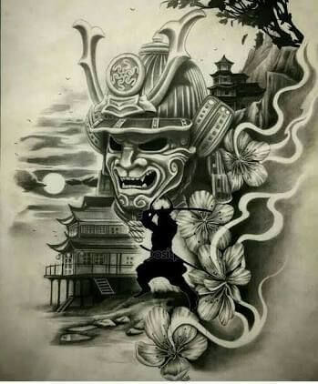 Samurai Tattoo Designs: A History Of War And Honor 21